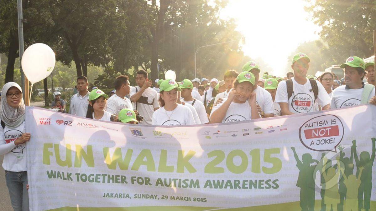 FUN WALK 2015 AUTISM IS NOT A JOKE!