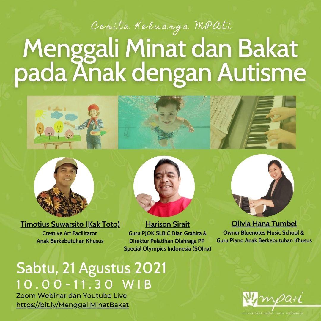 Menggali Minat dan Bakat pada Anak dengan Autisme