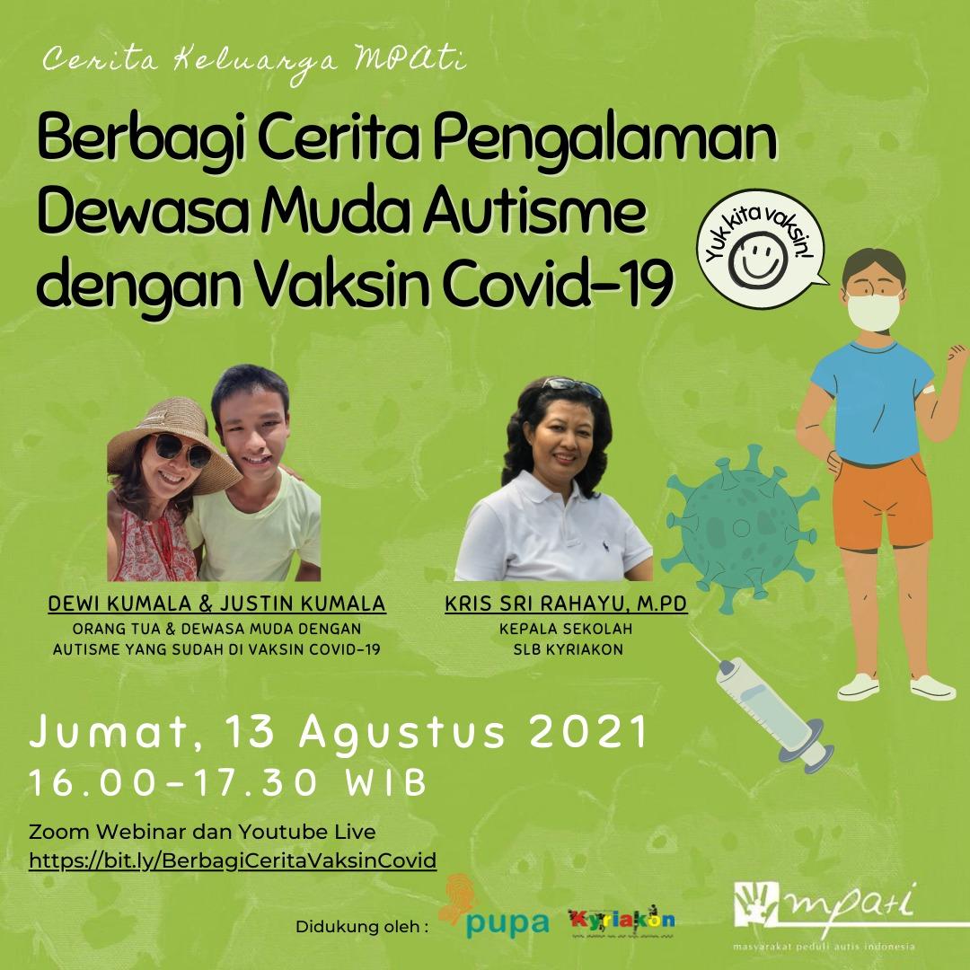 dewasa muda autisme dengan vaksin
